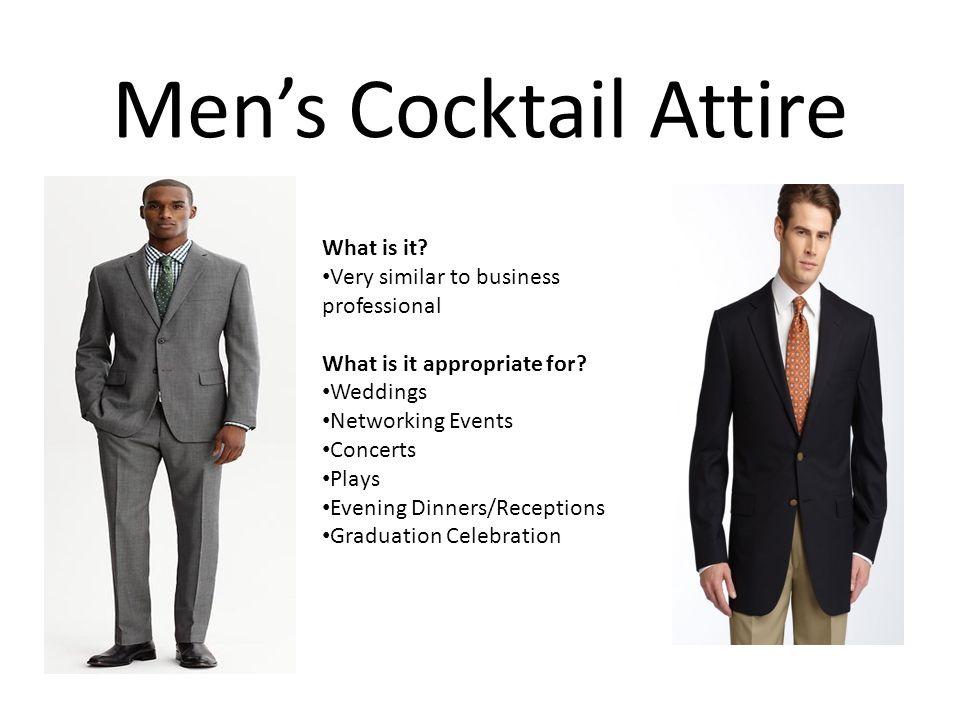 Corporate Attire Men