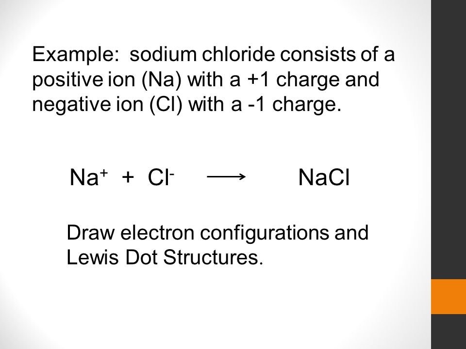 Structure Oxygen Dot Sodium