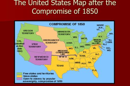 U S Map Slave States. United States Territorial Acquisitions Map ...