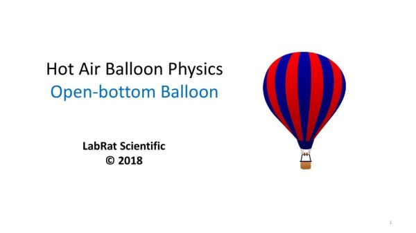 hot air balloon physic # 27