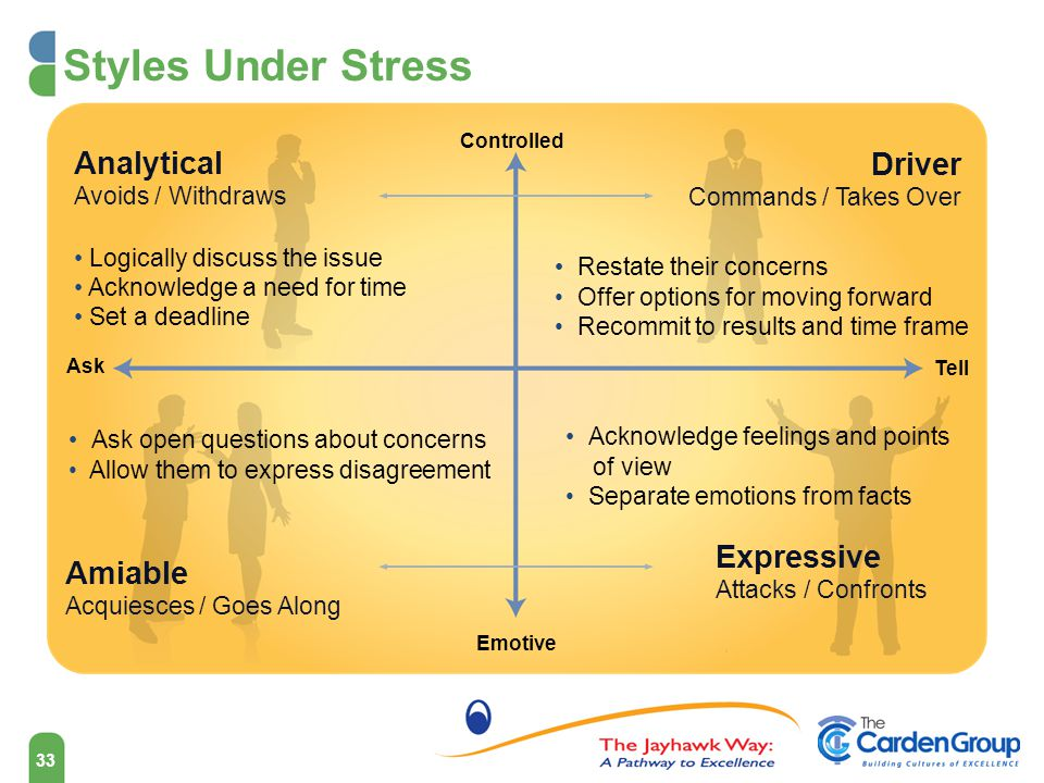 Social Styles Assessment Analytical Driver Amiable Expressive