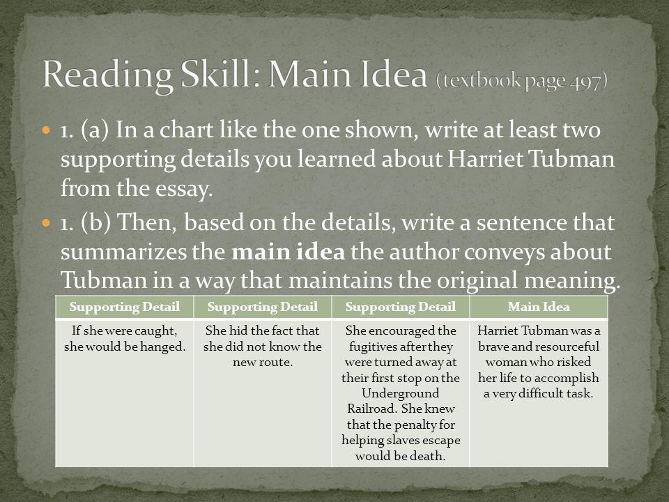 Harriet Tubman Underground Railroad Route