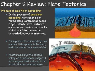 Earth Science Ch 9 review : Plate Tectonics - ppt video ...