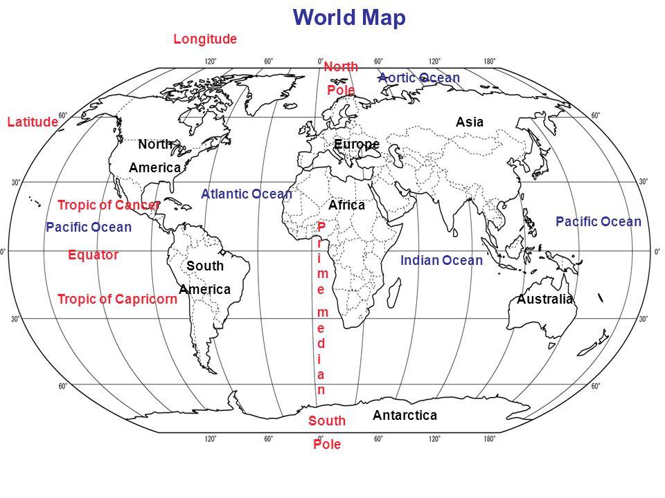 world map with latitude and longitude - 960×720