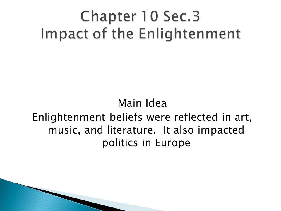 European Enlightenment Philosophers