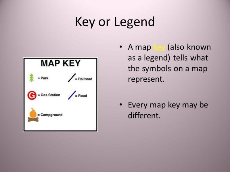 Map Key Legend Wallpaper Full Wallpapers