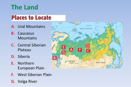 russia physical map caucasus mountains » Full HD MAPS Locations ...