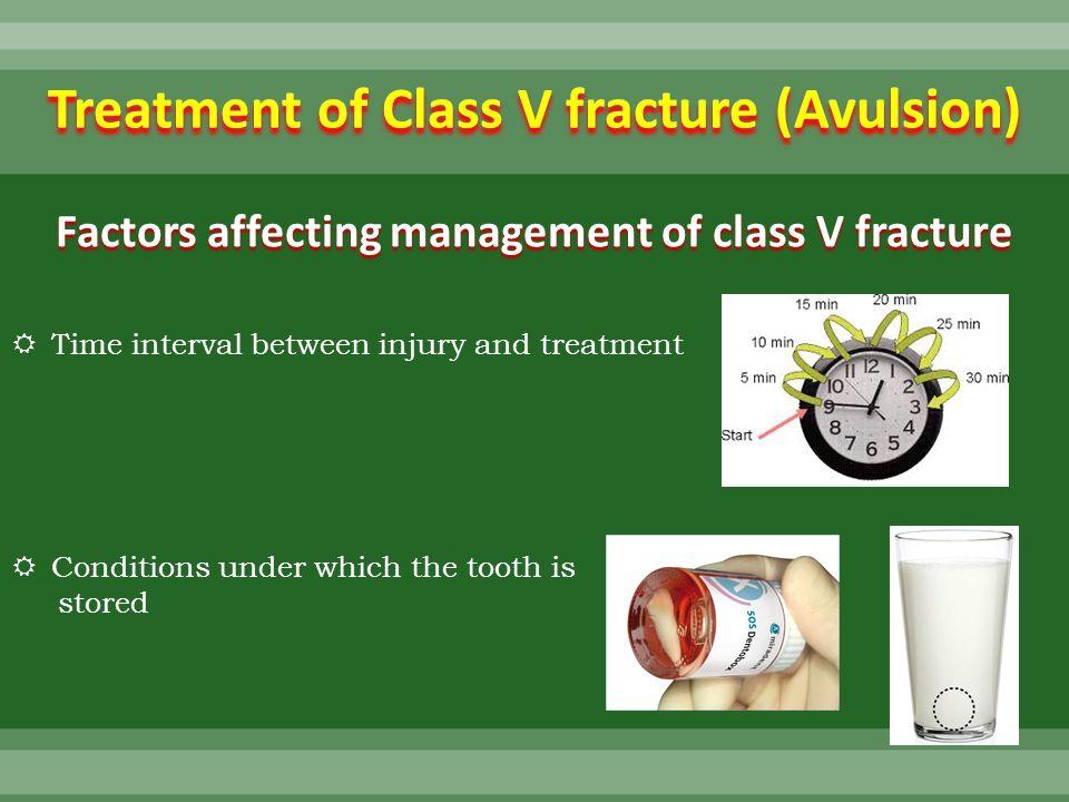 Avulsed Tooth Treatment