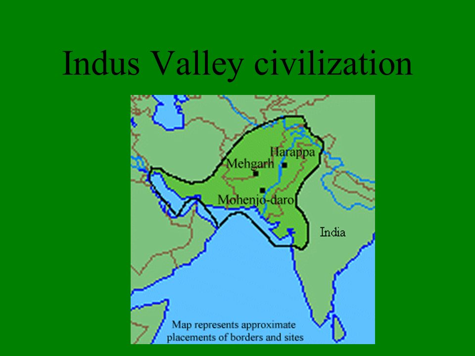 indus valley civilization map - 960×720