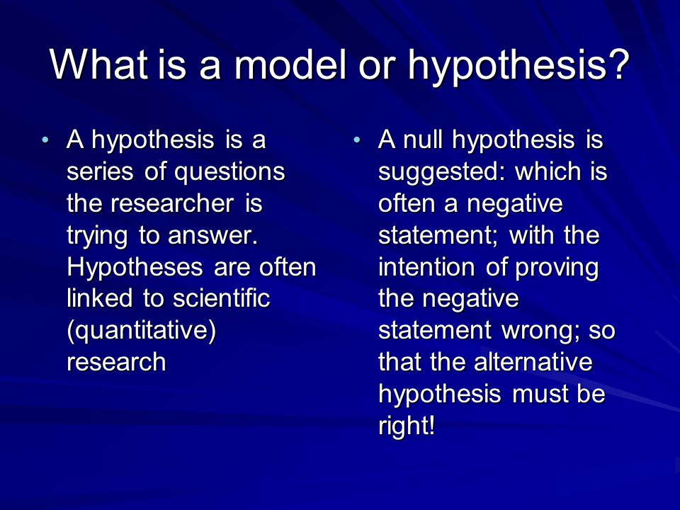 what is hypothesis in social research