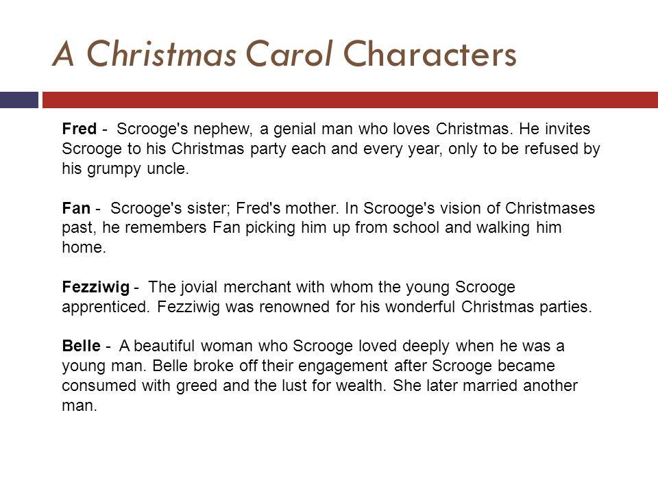 Scrooge Christmas Carol Fezziwig