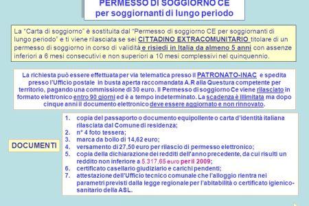 Beautiful Soggiornante Di Lungo Periodo Ce Contemporary - Casa ...
