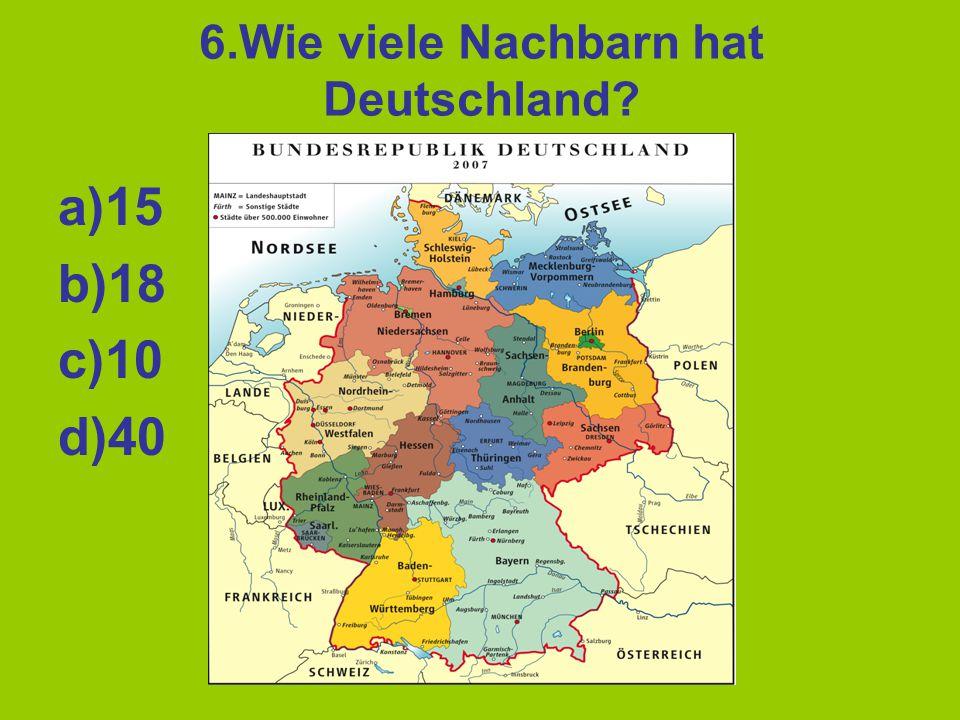 Deutschland Bundeslaender Hat Viele Wie