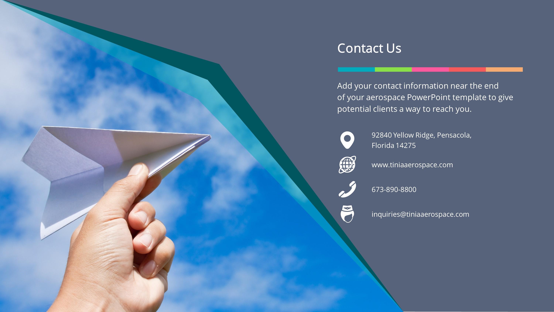 Aviation Premium Powerpoint Template Slidestore