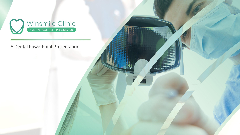 Dentistry Premium Powerpoint Template Slidestore