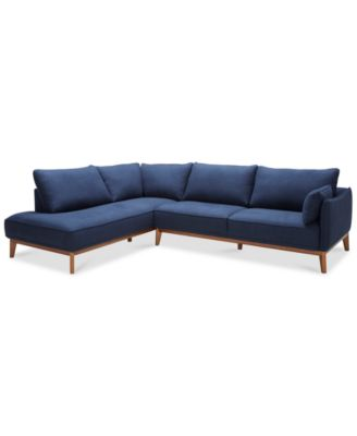 Sectional Sofas Couches and Sofas   Macy s Jollene 113  2 Pc  Sectional  Created for Macy s