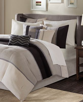 Madison Park Palisades 7 Pc Comforter Sets Bed In A Bag