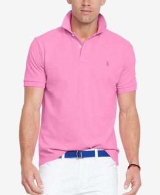 Polo Ralph Lauren Men S Classic Fit Cotton Mesh Polo Shirt
