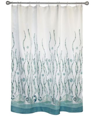 "Bacova La Mer 70"" x 72"" Graphic-Print Shower Curtain ..."
