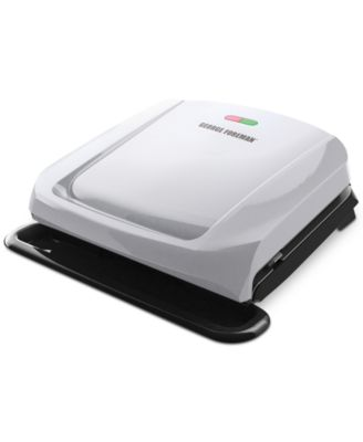 George Foreman Grp1060p 4 Serving Grill With Removable