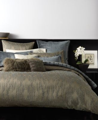 Donna Karan Exhale Taupe Bedding Collection Bedding