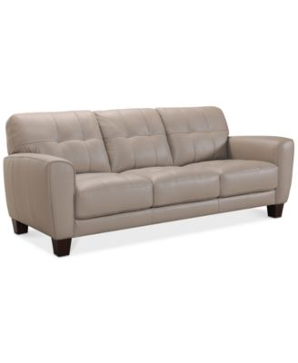 flexsteel sofa   Shop for and Buy flexsteel sofa Online   Macy s Kaleb 84  Tufted Leather Sofa  Created for Macy s