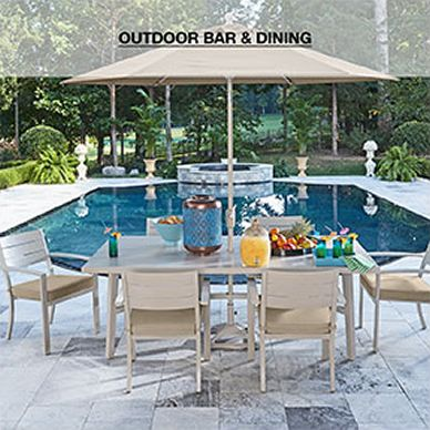 Patio Furniture   Outdoor Furniture   Macy s Outdoor Bar and Dining