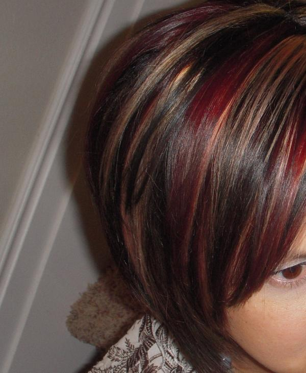 35 Brilliant Dark Brown Hair With Highlights - SloDive