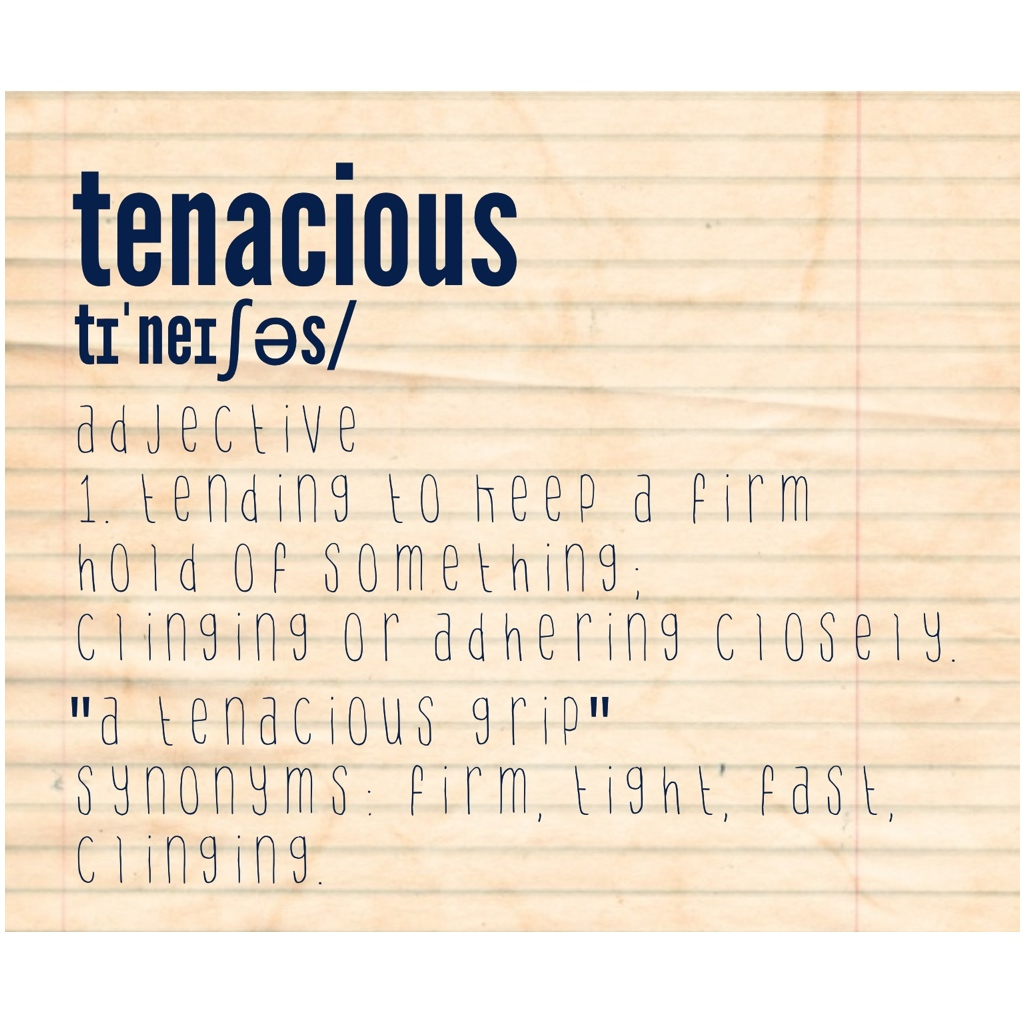 What is the Meaning of tenacious - DriverLayer Search Engine