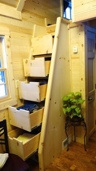 Off Grid Living On 225 Square Feet Tiny House Small