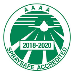 Aerial Application Association of Australia Ltd (AAAA) Spraysafe Accredited