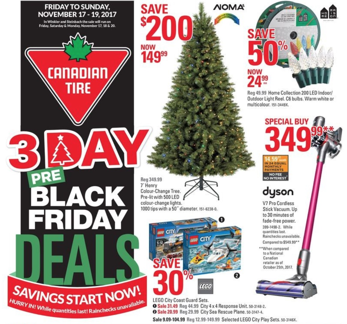 Canadian Tire 3 Day Sale 2017