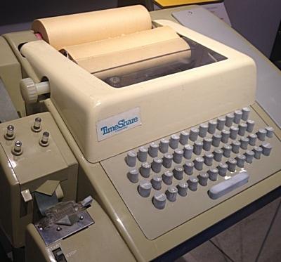 Modelo de Teletype 33.