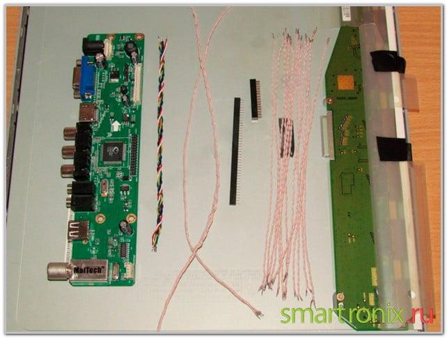 Madlavning snoet ledninger