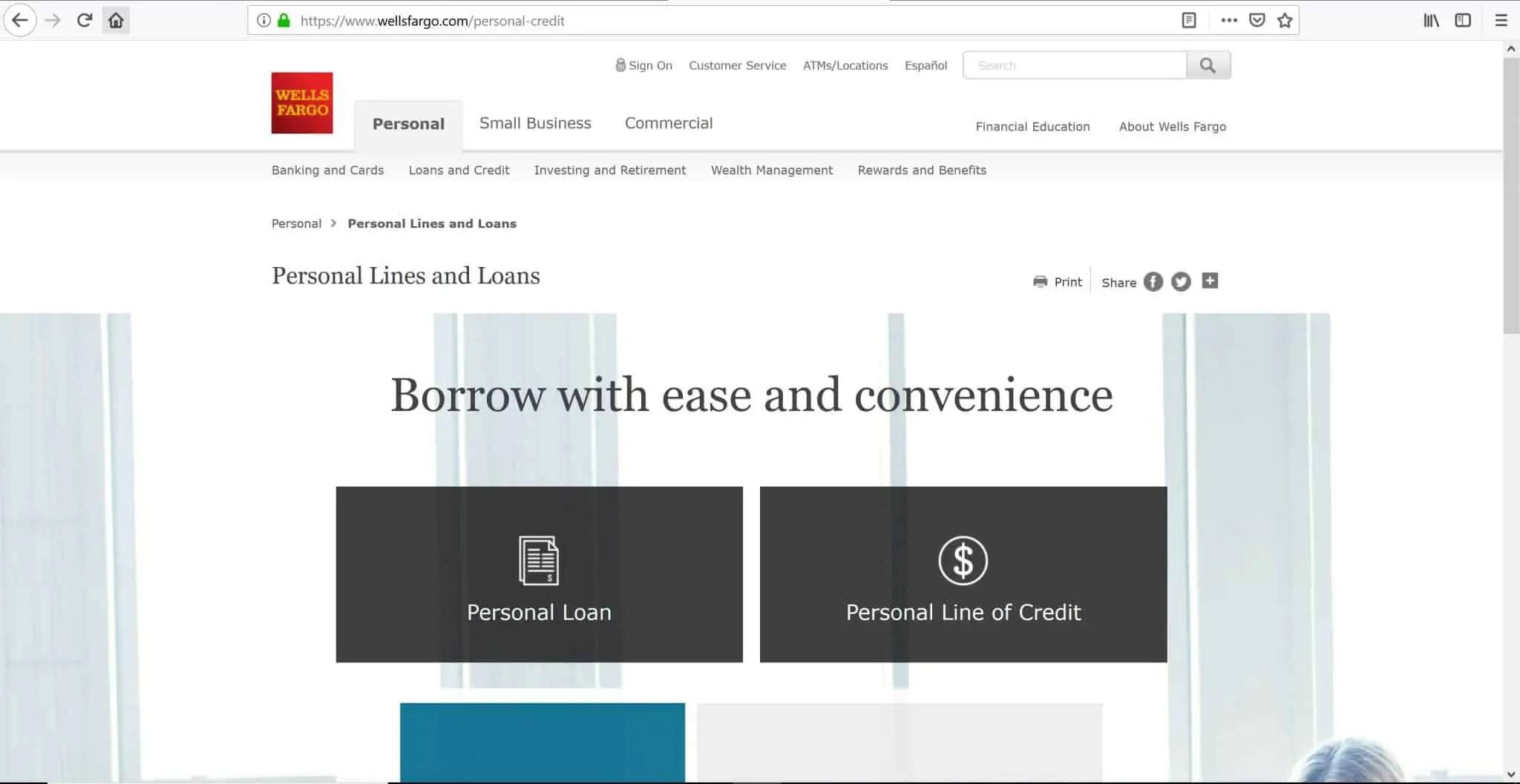 Santander Bank Personal Loan