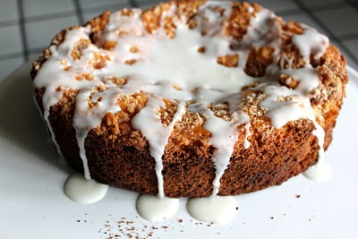 Glazed Cinnamon Coffee Cake In The Crockpot Smashed