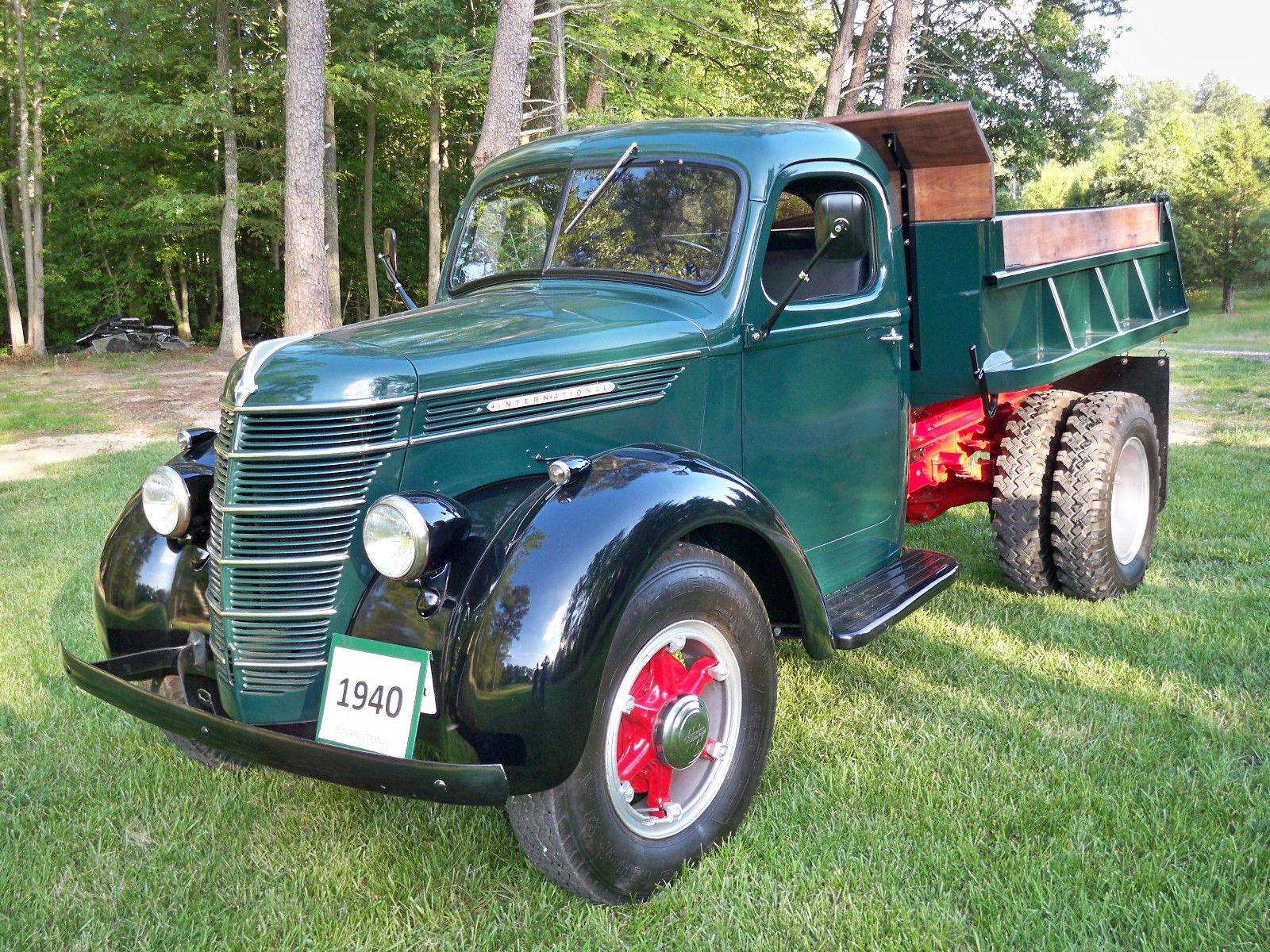 Antique Ford Dump Truck 1954