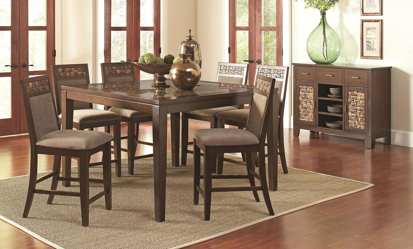 Trinidad Counter Height Dining Room Set Casual Dining