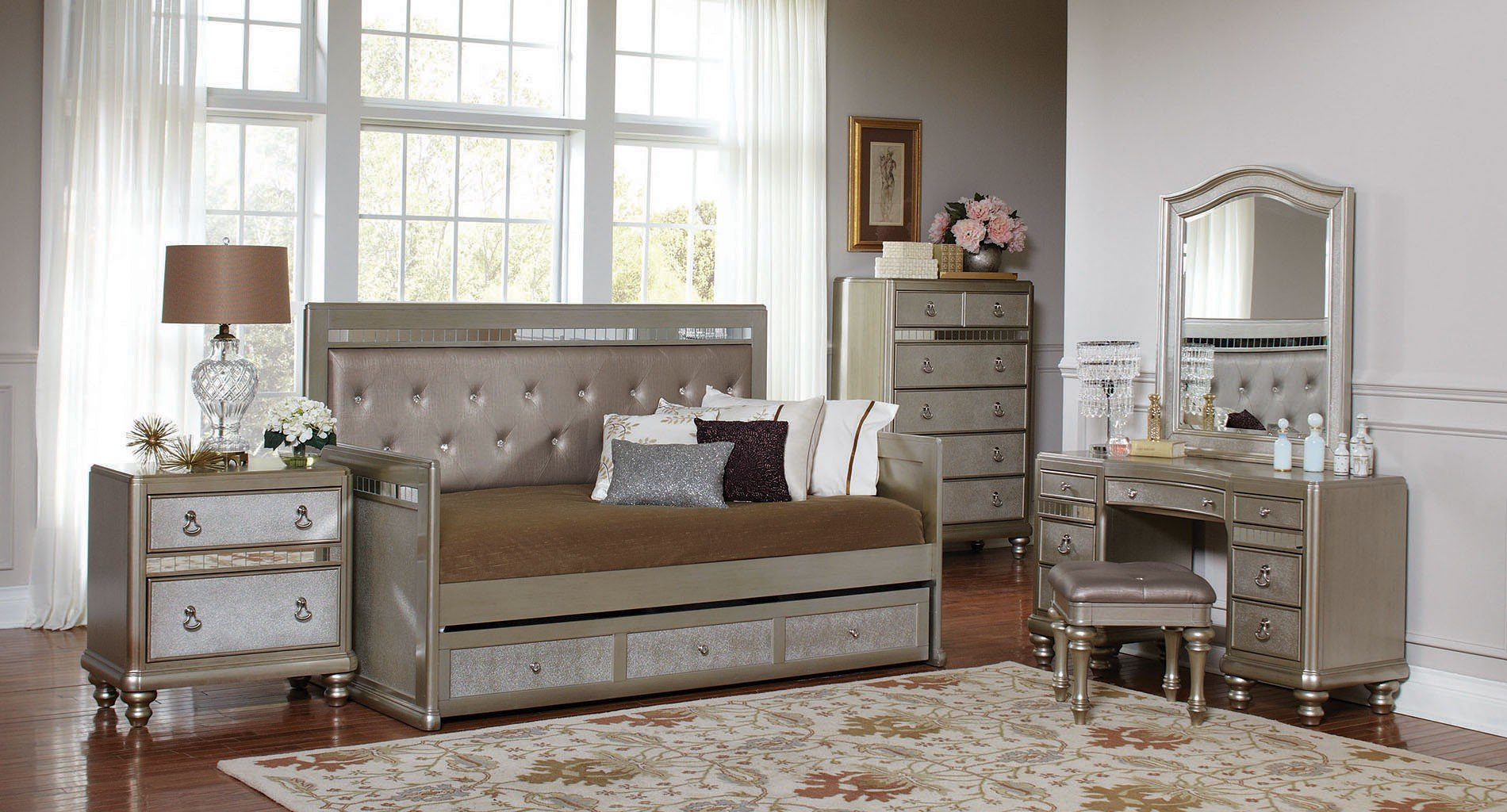 Bling Game Daybed Bedroom Set Kids Room Sets Kids And