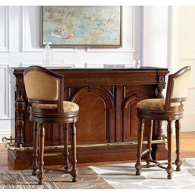 Carlton Manor Bar Set Pulaski Furniture Furniturepick