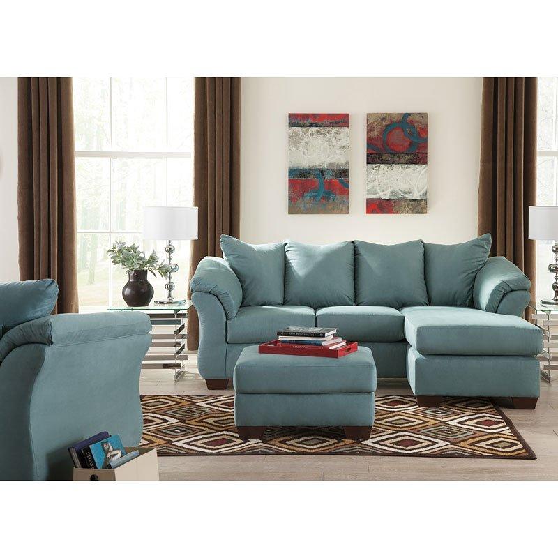 Chaise Sofa Living Room Set