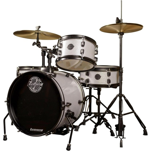 Ludwig Questlove Pocket Kit Beginners Complete Drum Set     Ludwig LC178X029 Image  1