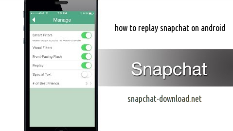 How to replay a snapchat on android   Social Media Apps ...