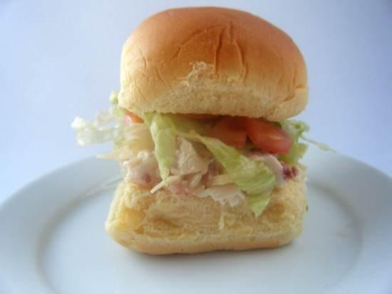 Ranch Chicken Club Salad Sliders Recipe   SnappyGourmet