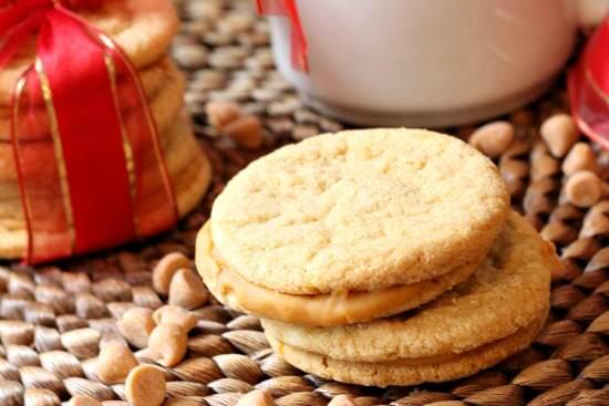 Butterscotch Sandwich Cookies Recipe | SnappyGourmet.com