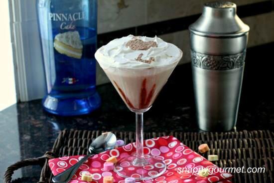 Chocolate Coconut Caketini Cocktail Recipe | SnappyGourmet.com