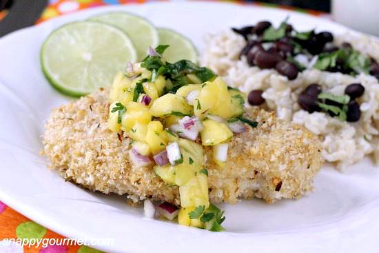 Caribbean Oven-Fried Chicken Recipe | SnappyGourmet.com