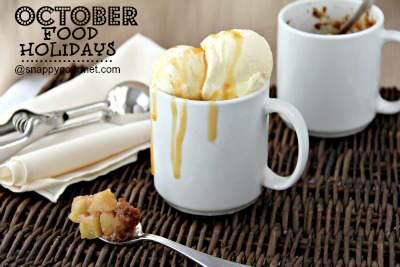 Food Holidays & Recipes  (October)   SnappyGourmet.com