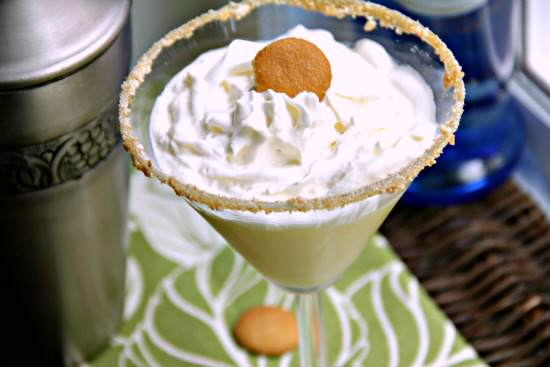 Banana Puddintini Cocktail Recipe | SnappyGourmet.com