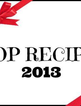 2013 Most Popular Recipes at snappygourmet.com